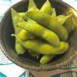 枝豆の茹で方・時間は短めにしたほうが甘くておいしい食感キープできます