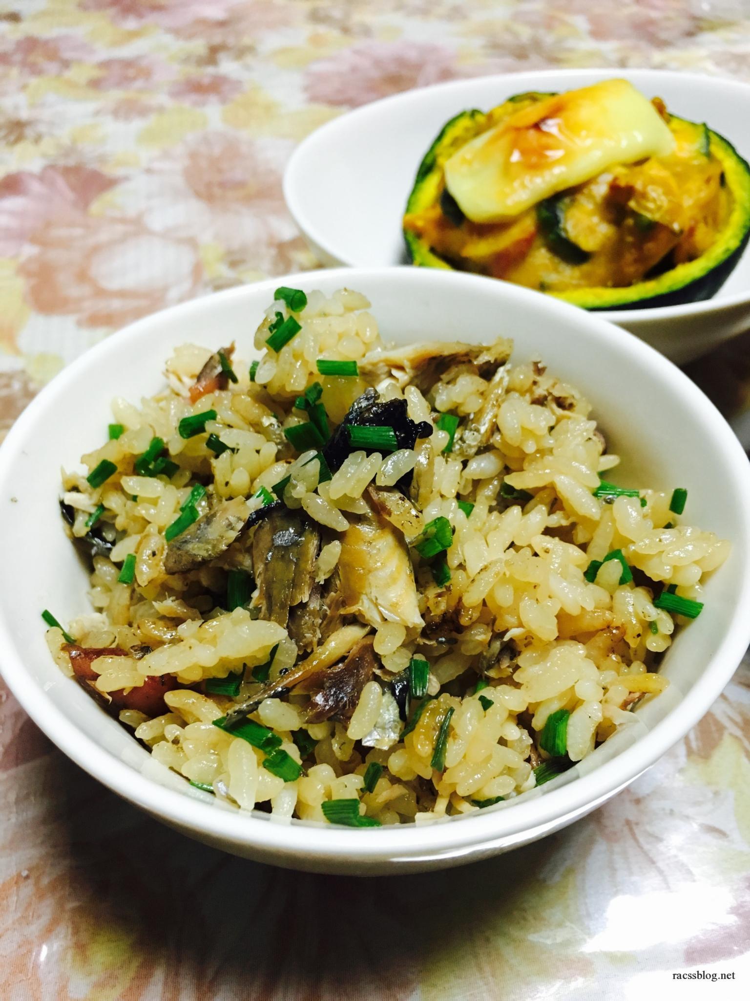 秋刀魚の炊き込みごはんを土鍋で作ってみた