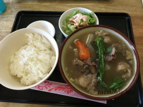沖縄まんぷく食堂の牛汁