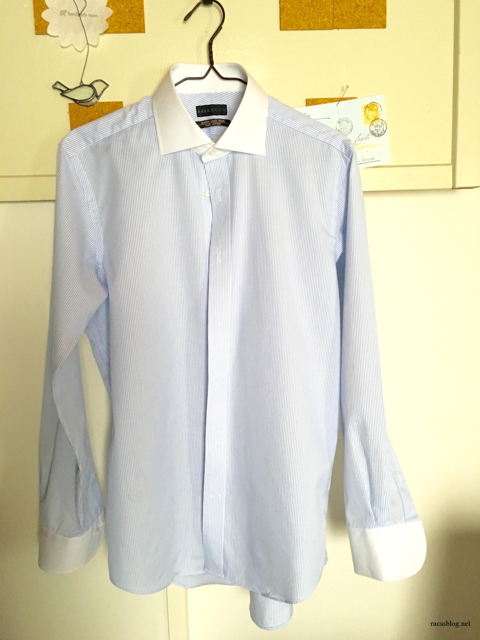 ワイシャツの胸ポケットを外して格好よくする方法