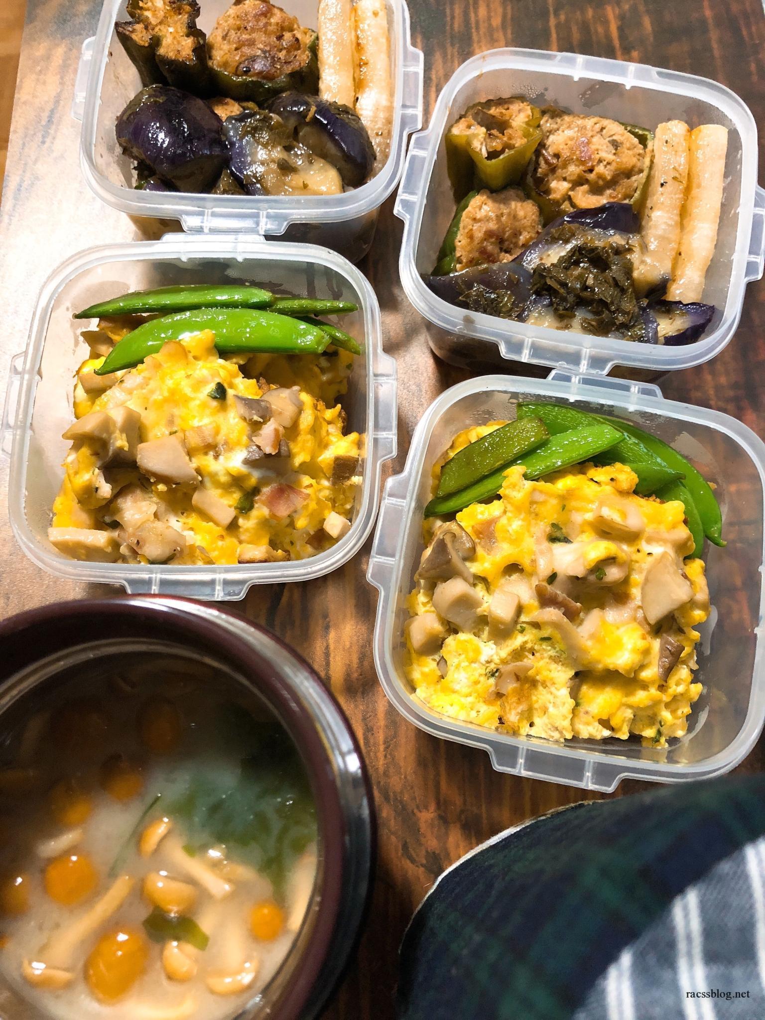 糖質制限のお弁当中身6日分を紹介!満腹簡単おかずで物足りなさゼロ。