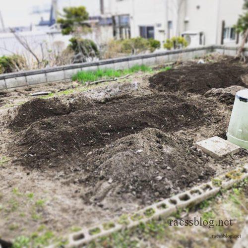 家庭菜園エリア決め