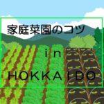 北海道の家庭菜園|初心者にもおすすめの野菜と土いじりのコツ【目次】