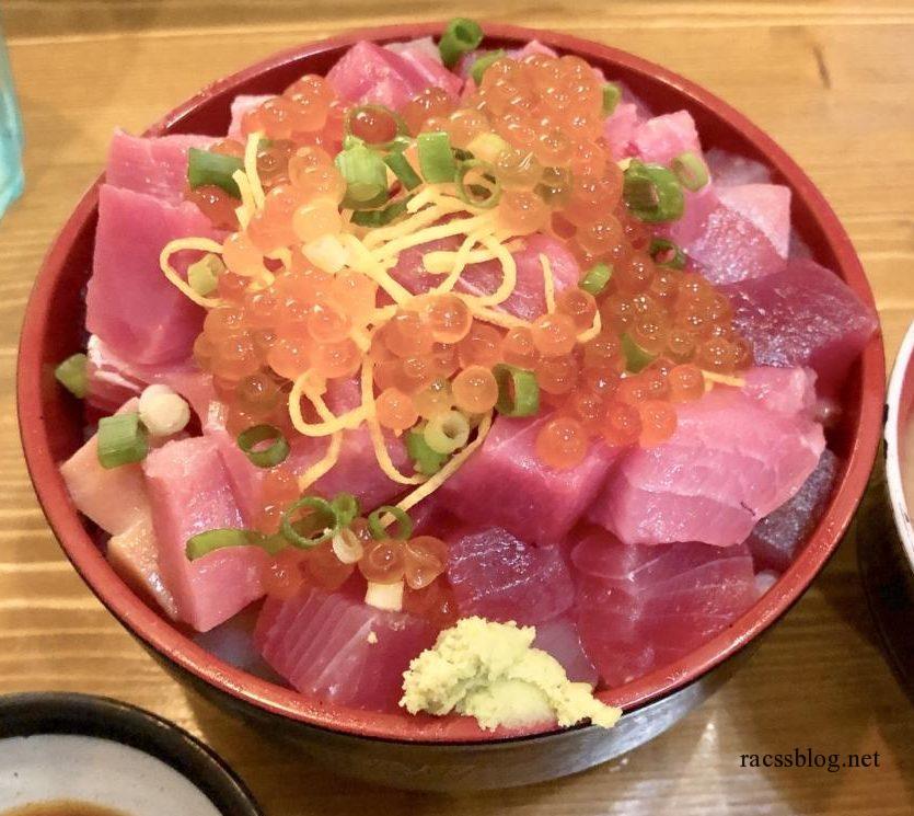 【函館グルメ】コスパ抜群の居酒屋HAKOYAのランチ海鮮丼|上手な食べ方伝授します