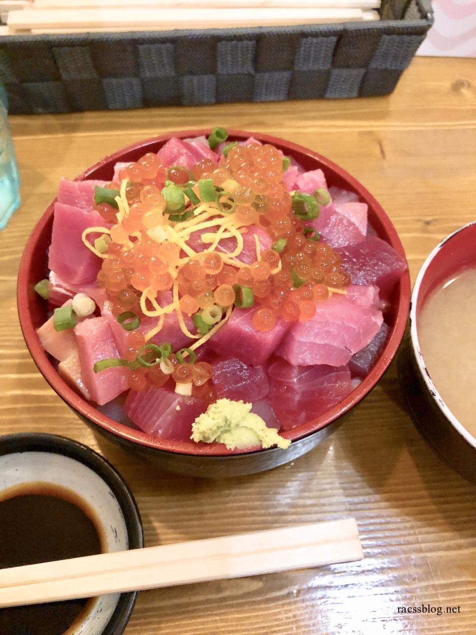 函館激安海鮮丼