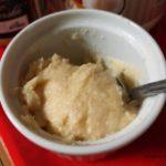 ココナッツオイルとメープルバターのペースト