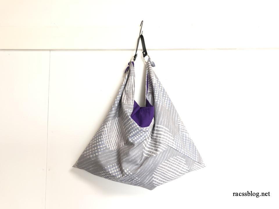 あづま袋のショルダーバッグの作り方|旅行に持っていこう