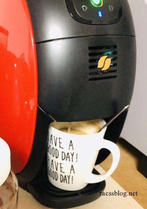 ネスカフェバリスタでコーヒーをいれる