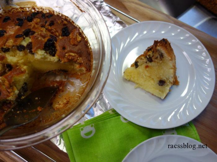 耐熱ボウルで作るケーキ