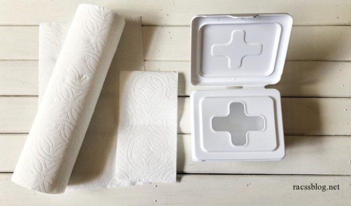 手作り除菌シート