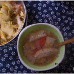 活力鍋レシピ|節約・手羽先スープと白菜のおかかまぶし
