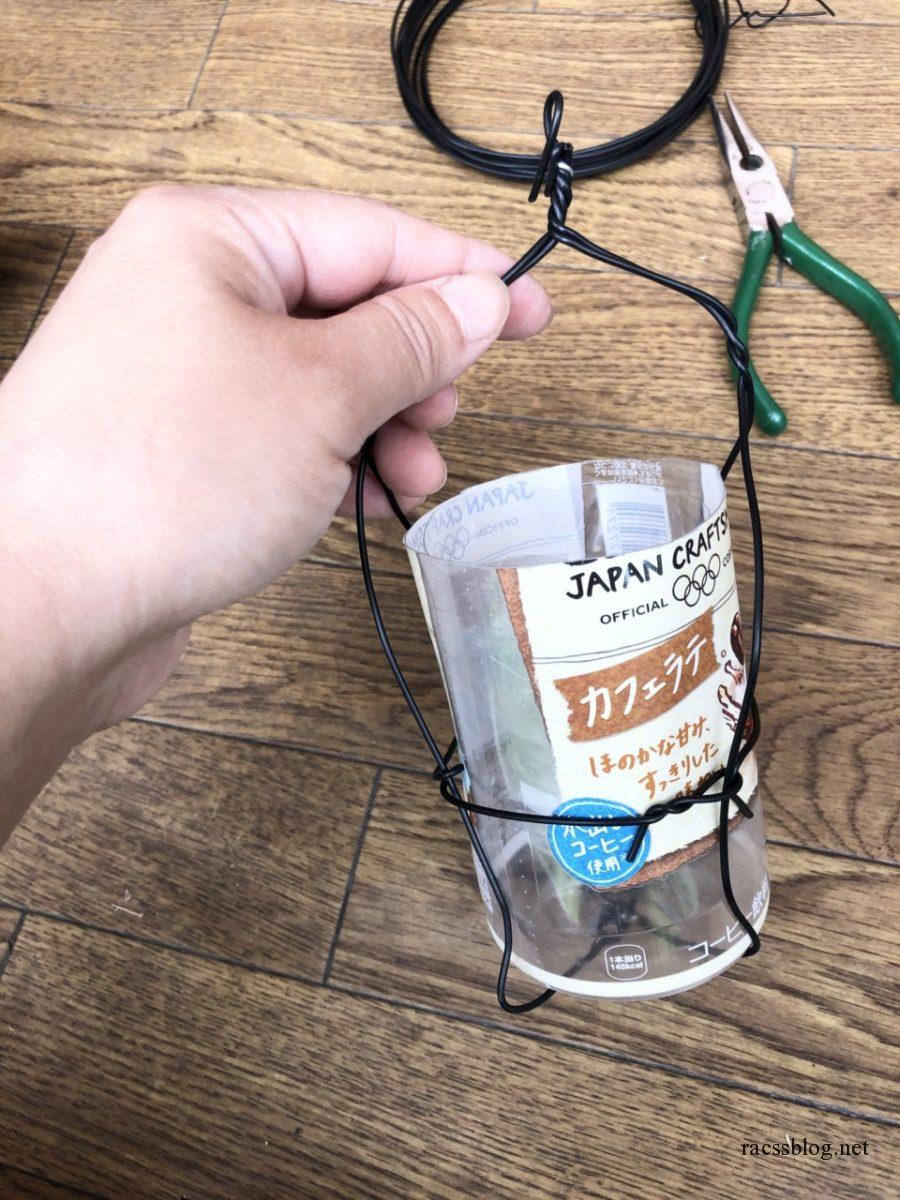 虫駆除用ペットボトル