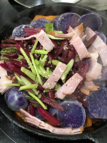 カラフル蒸し野菜