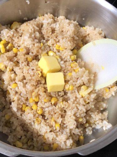 コーンご飯の作り方