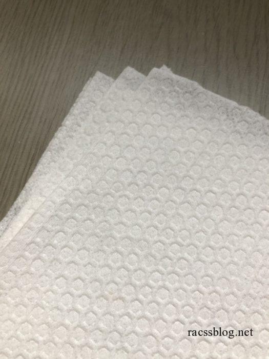 洗えるペーパータオル