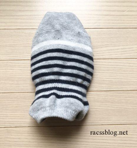 靴下のリメイク